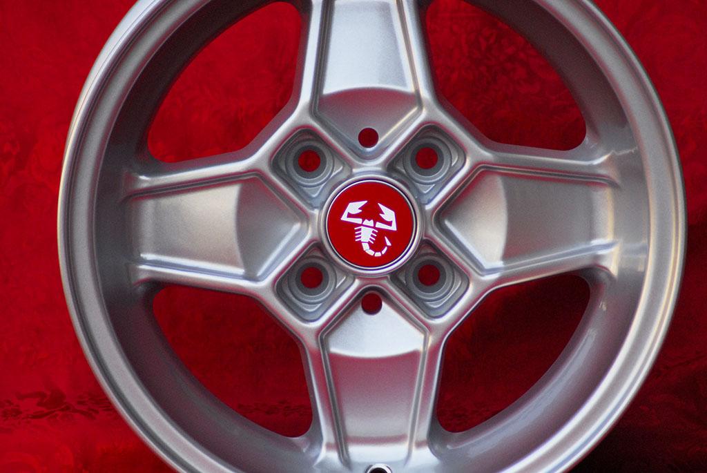 4 Cerchi in Lega Leggera Alfa Romeo CD30 Style 5.5Jx13 ET7 2