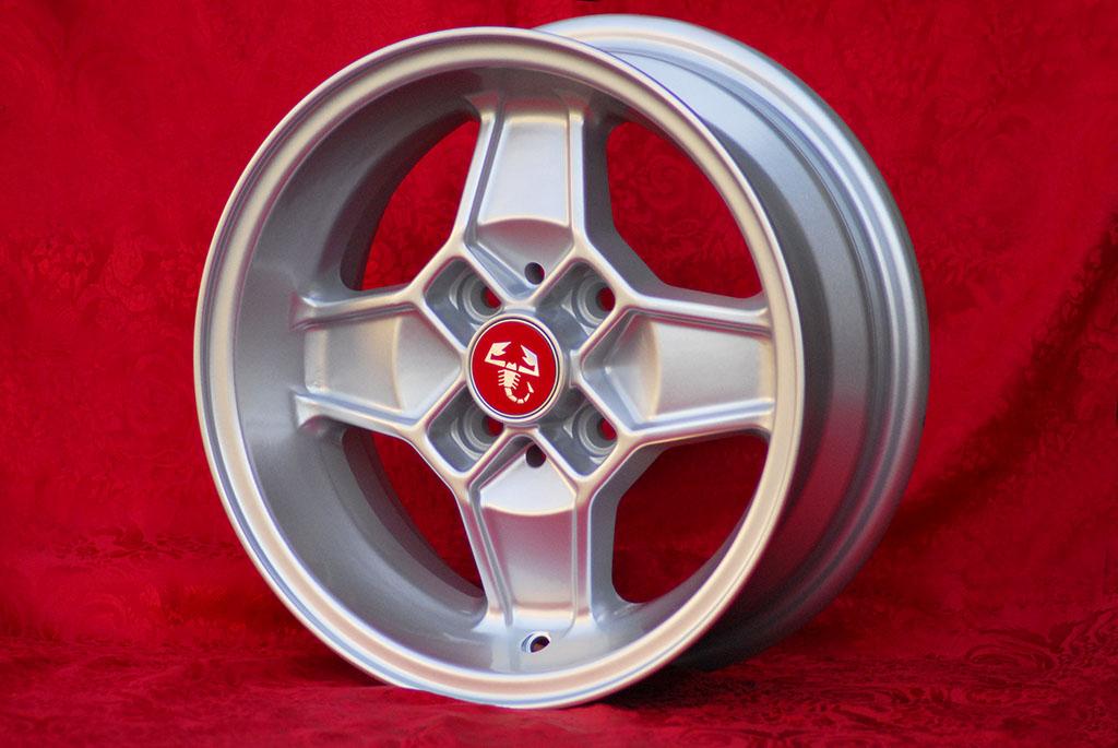 4 Cerchi in Lega Leggera Alfa Romeo CD30 Style 5.5Jx13 ET7 4