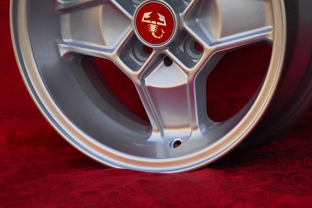 4 Cerchi in Lega Leggera Alfa Romeo CD30 Style 5.5Jx13 ET7 6