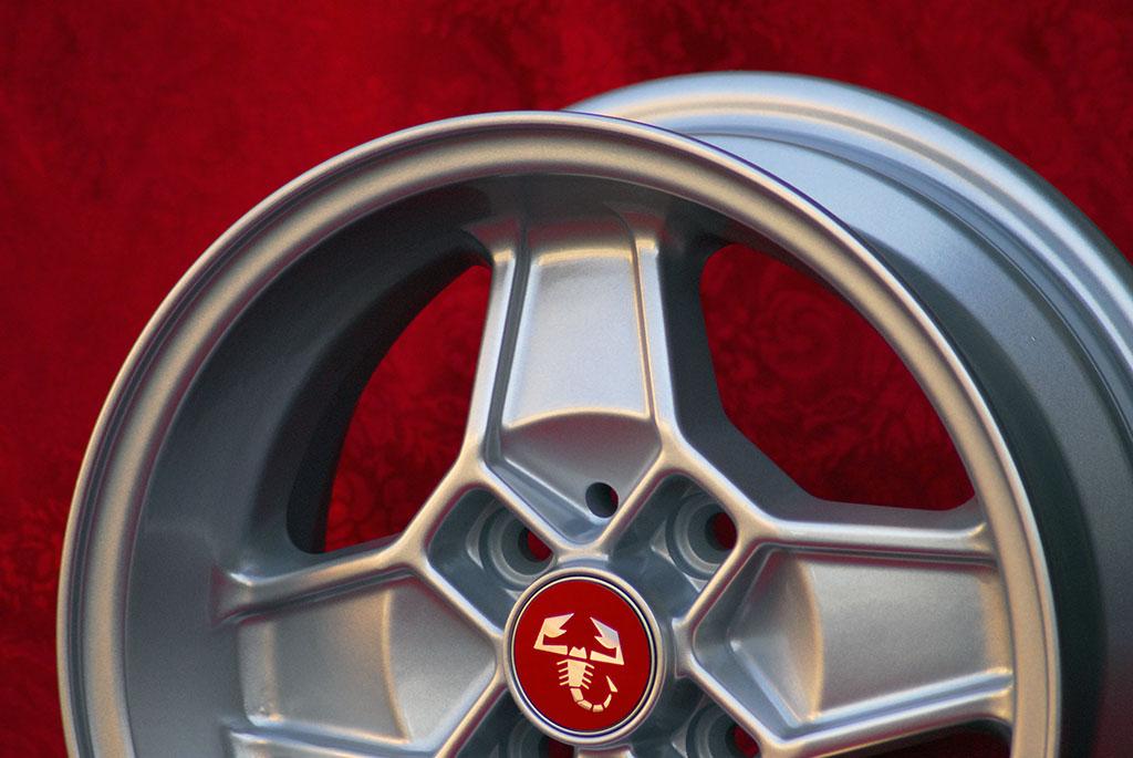 4 Cerchi in Lega Leggera Alfa Romeo CD30 Style 5.5Jx13 ET7 7