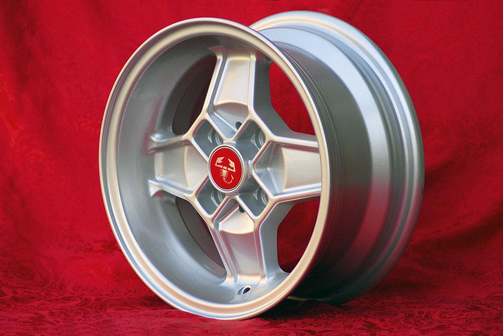 4 Cerchi in Lega Leggera Alfa Romeo CD30 Style 5.5Jx13 ET7 8