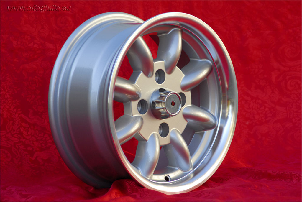Mini Minilite Mini Mk1-3 850 1000 1275 GT Riley Elf Wolseley Hornet  6x13 ET16 4x101.6 c/b 65.1 mm Wheel