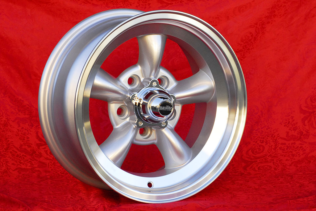 Buick Torq Thrust Buick Skylark  7x15 ET-5 5x114.3 c/b 83.1 mm Wheel