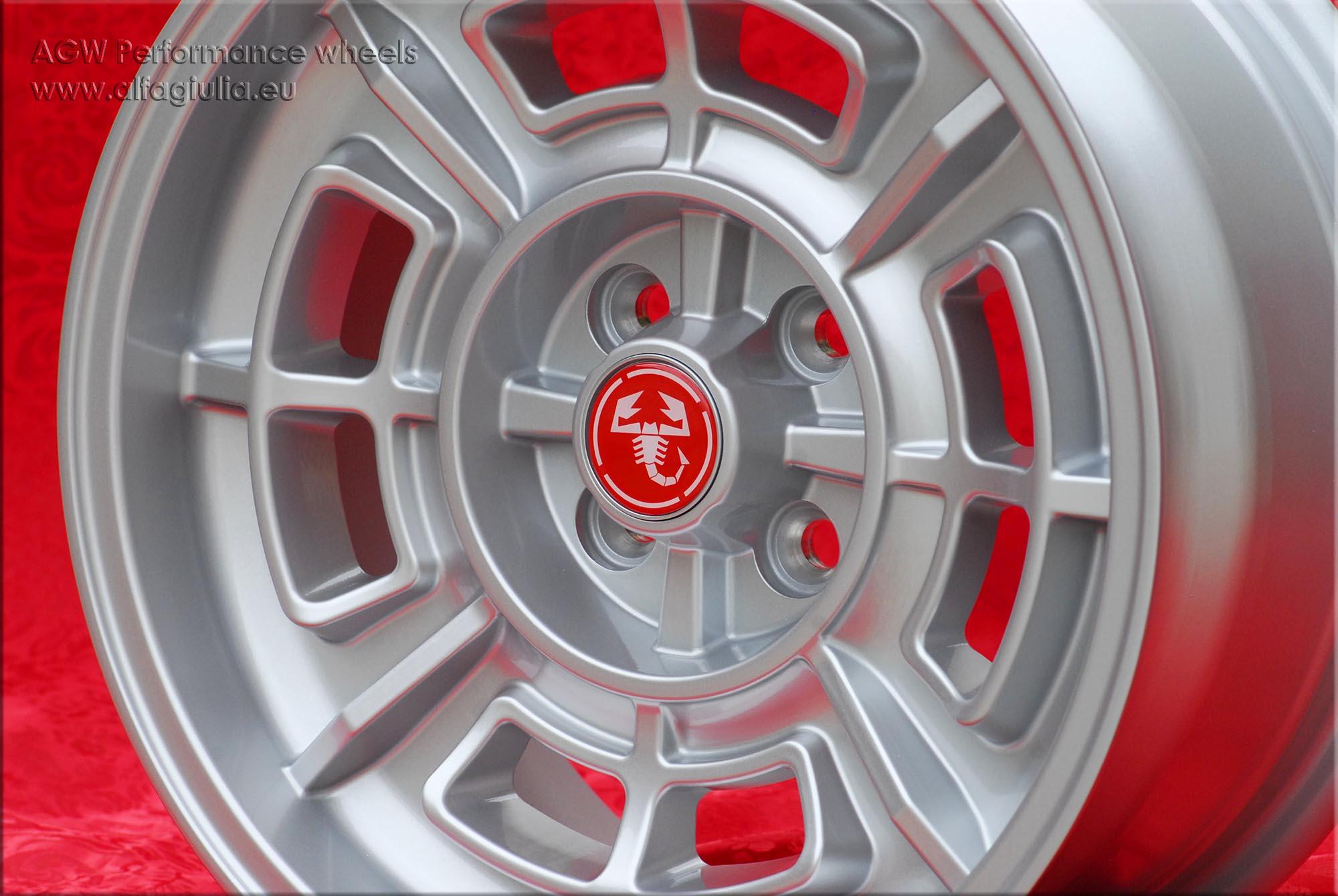 Fiat 124 Spider For Sale >> 4 Cerchi Fiat Cromodora CD68 7x15 4x98 Wheels Felgen ...