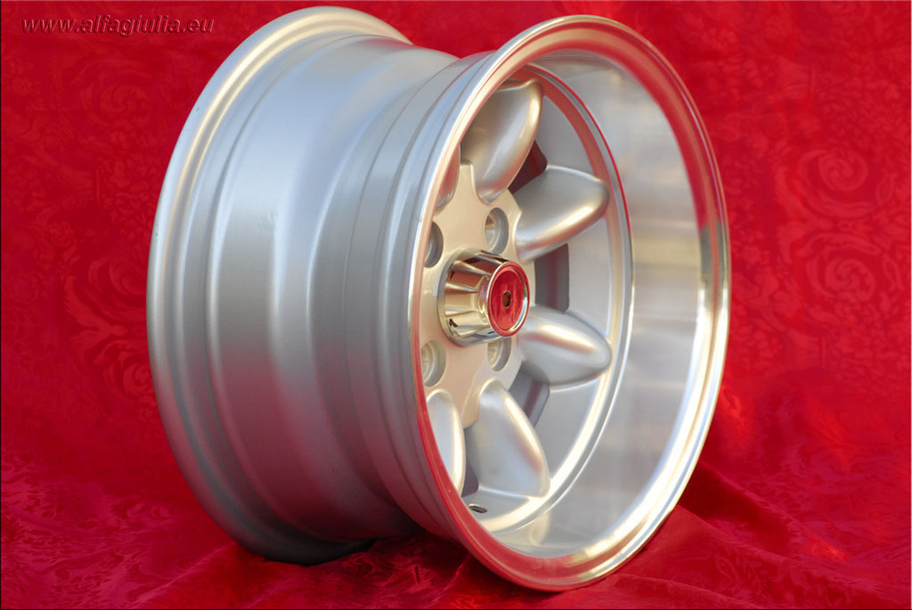Mini Minilite Mini Mk1-3 850 1000 1275 GT Riley Elf Wolseley Hornet  7x13 ET1-7 4x101.6 c/b 65.1 mm Wheel