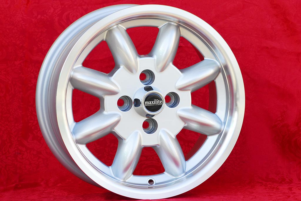 Ford Minilite Capri Taunus Escort Cortina Lotus Talbot  6x14 ET16 4x108 c/b 63.4 mm Wheel