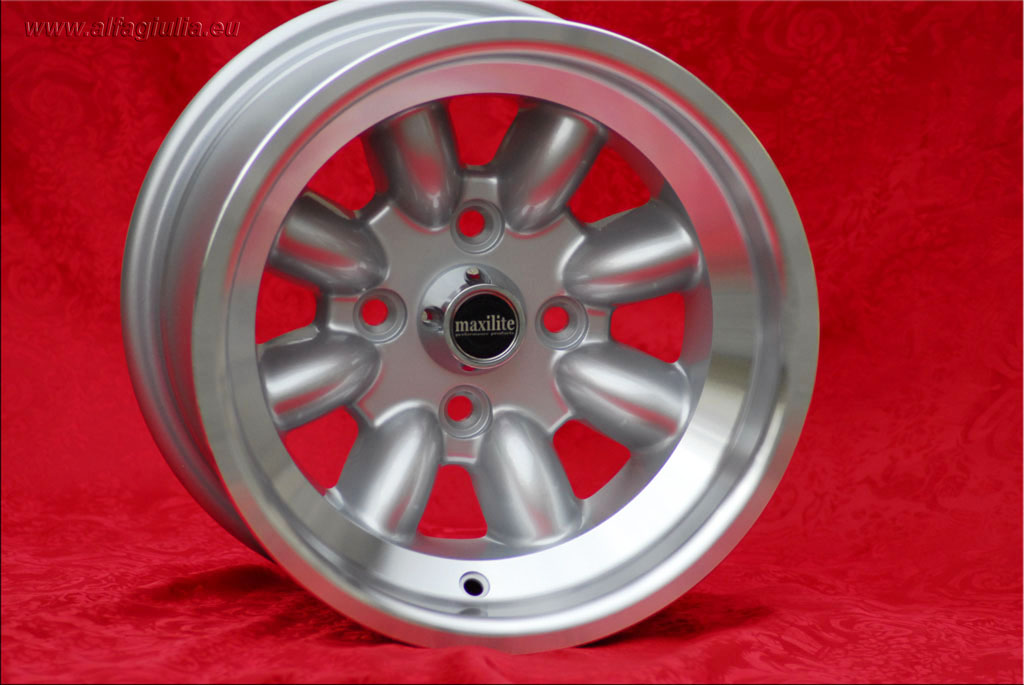 Ford Minilite Capri Taunus Escort Cortina Lotus Talbot  8x13 ET-6 4x108 c/b 63.4 mm Wheel